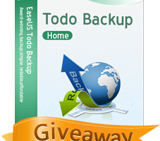 EaseUS Todo Backup Home giveaway