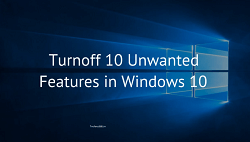 turn off windows features