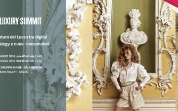 """Ottava edizione del """"Luxury Summit"""""""