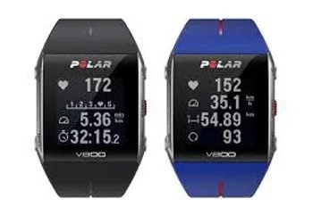 Polar V800 faces couleurs La montre multisports Polar V800 avec cardio fréquencemètre et GPS intégré