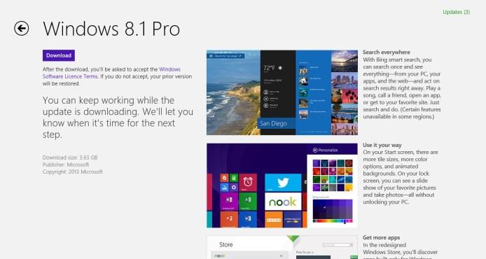 Windows Store - Update to Windows 8.1 - Image 2