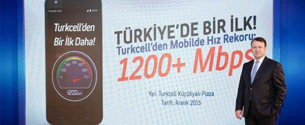 Turkcell 4.5G'de 1200 Mbps hıza böyle ulaştı [İnfografik]