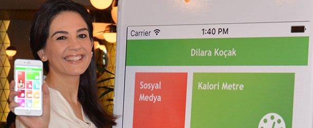 Diyetisyen Dilara Koçak'tan mobil sağlık uygulaması