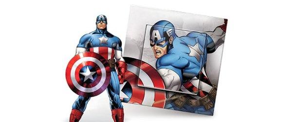 Kaptan Amerika şimdi de çocuk odalarında