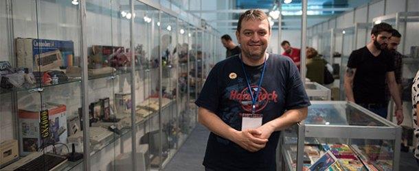 Murat Oktay'ın Dijital Oyun Müzesi E-Gameshow'daydı