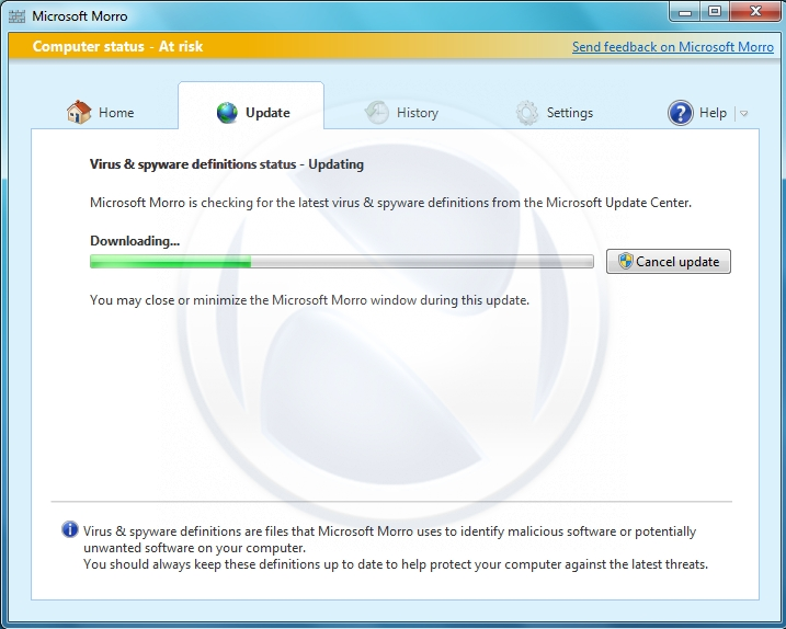 microsoft morro leaked screenshots security antivirus