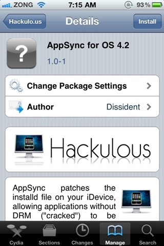 Install appsync MobileInstallation patch for iPhone iPod touch,iPad iOS 4.2, 4.2.1