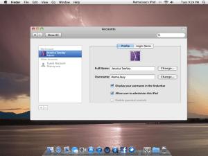 MAC OS X HD for iPad