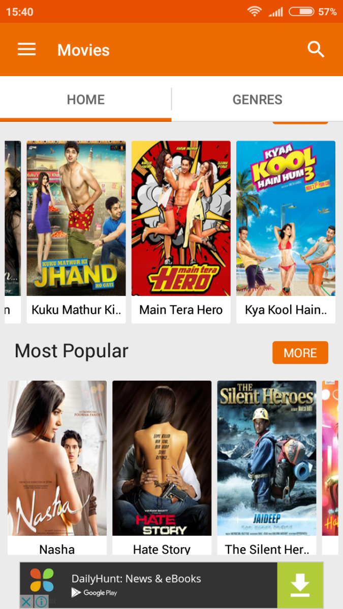 Top 7 Free Indian Movie Apps for Android to watch HD Movies Online & Download Offline on Mobile Phones