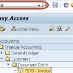 FB70 Customer Invoice