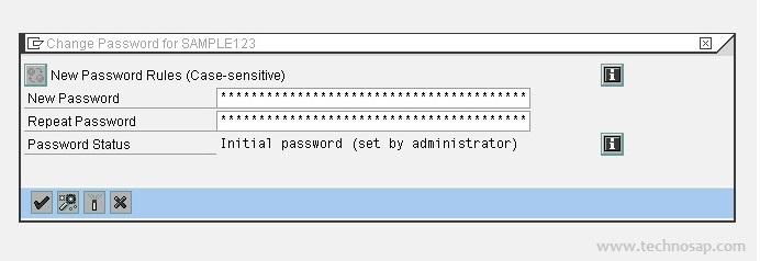 sap basis password