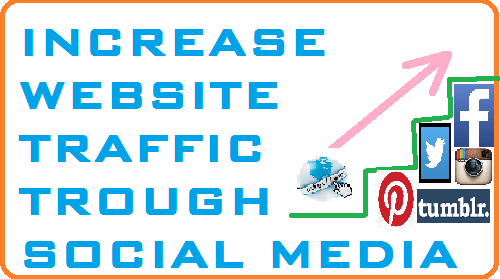 increase website traffic through social media