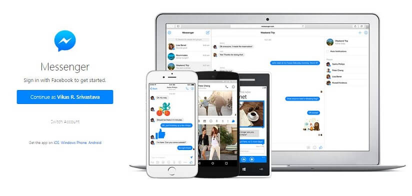 Facebook-Messenger-for-Web-Browser