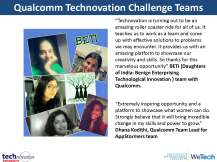 Technovation update for Qualcomm