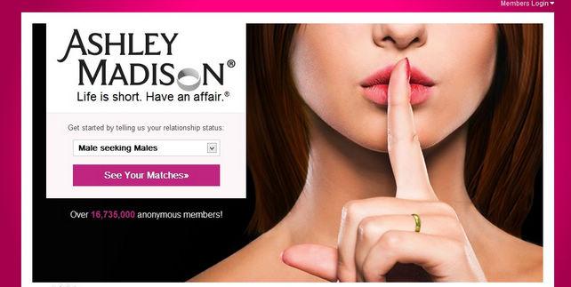 年度最招人恨網站:婚後偷情網Ashley Madison