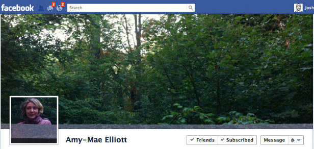 Facebook Cover Design - Amy Mae Elliott - Jungle