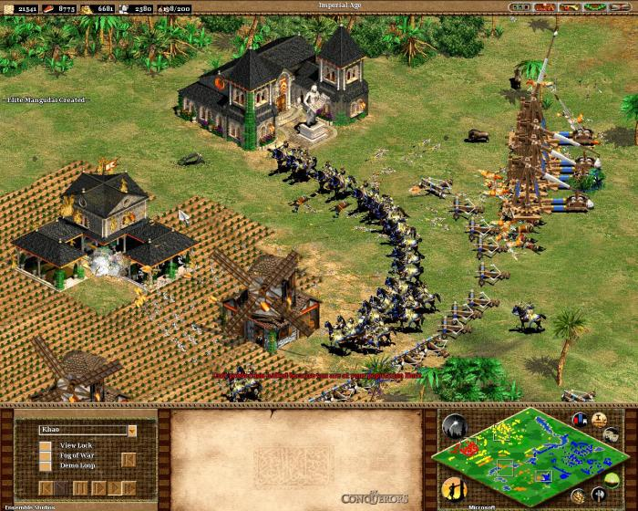 age of empires II the conquerors expansion - screenshots pics