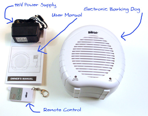electronic barking dog home security