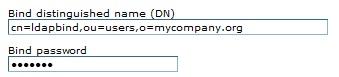 LDAP Security Settings