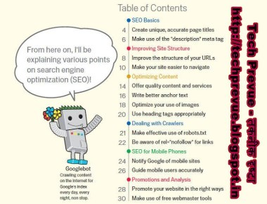 Google-Search-Engine-Optimization-Guide-Table-of-Contents