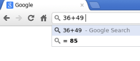 Google Chrome 36 +(plus) Chromathematic image