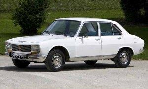 Peugeot 504 old classic design
