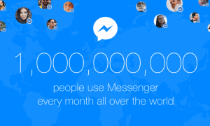 messenger 1 billion users
