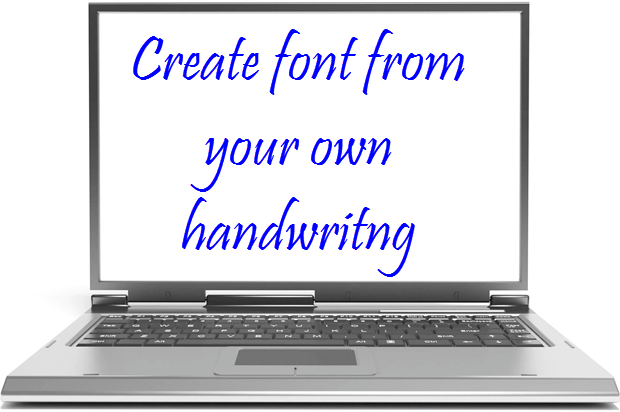 How to Create Handwriting Font on your own ?