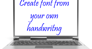 Create-font-from-your-handwriting