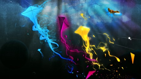 HD wallpapers for Windows 8-colorful_kites
