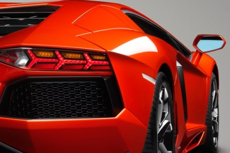 hd racing cars s for iphone 5 rear aventador