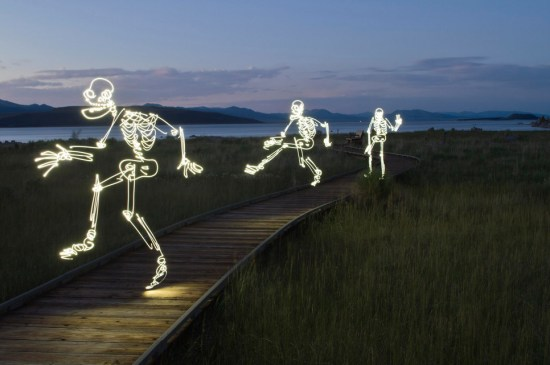 Light Painting Photography - skeliton guys  (6)