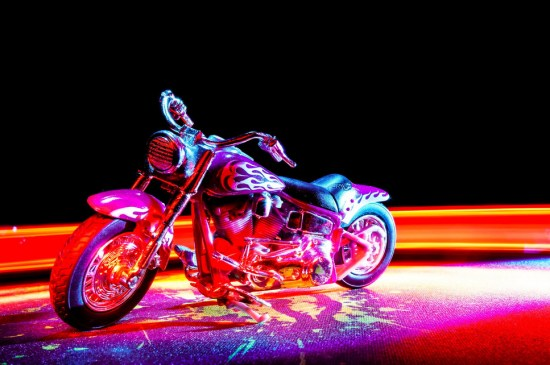 bike light-Light Painting Photography