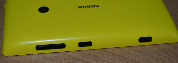 Lumia 520 side buttons