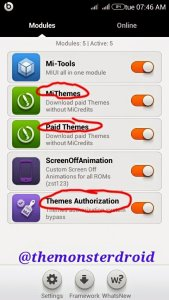Bypass the Mi credits on MiUI