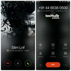 miui v6 caller screen