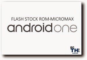 flash stock rom on micromax android a1