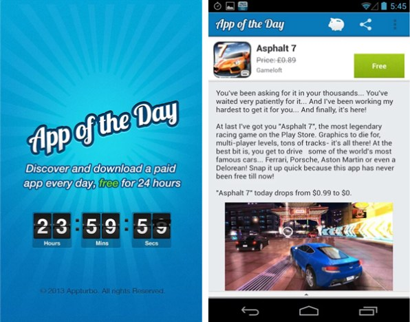 get paid android apps for free 2014
