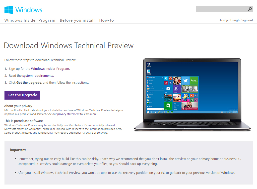how to download windows 10 without an optical drive