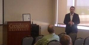 Andrew Buker, Director of Technical Services, University of Nebraska - Omaha