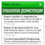 prayer junction app