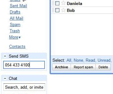 yuMobile Gmail sms