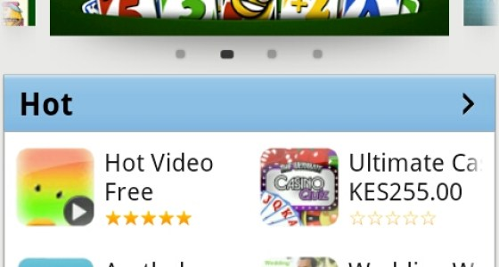 New Samsung Apps Store mobile