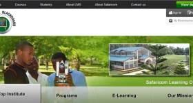 Safaricom Blackboard