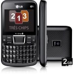 LG C333 Tri Sim