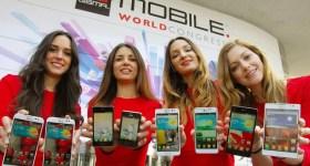 LG Smartphones MWC