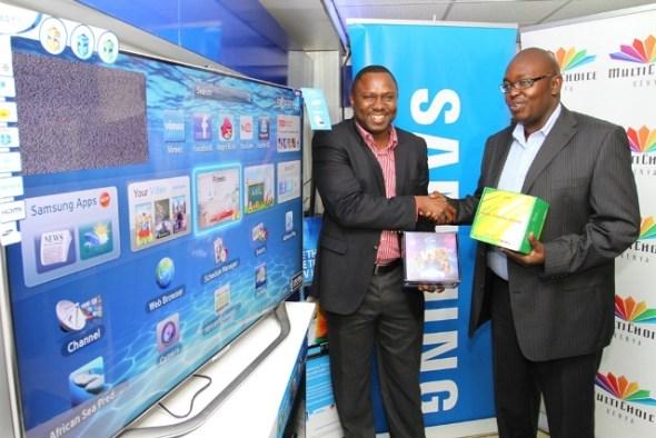 Samsung Multichoice promotion