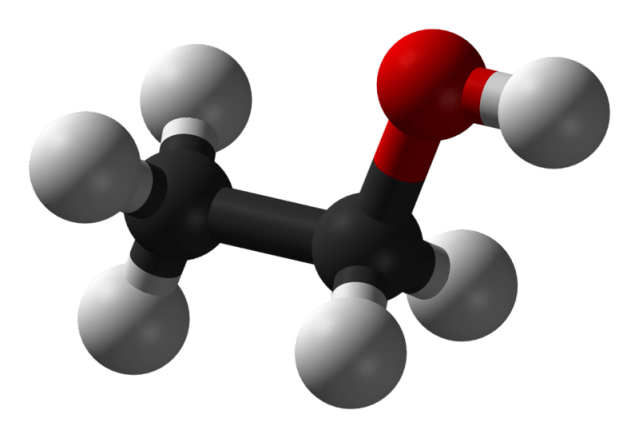 Model of Ethyl Alcohol