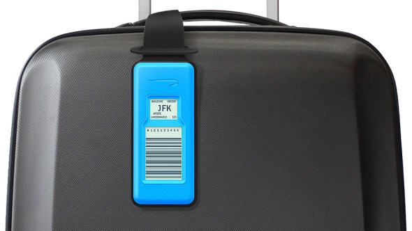 reuseable e-ink luggage tags