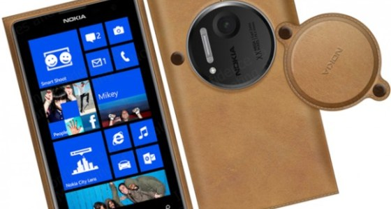 Nokia Lumia 1020 leather case